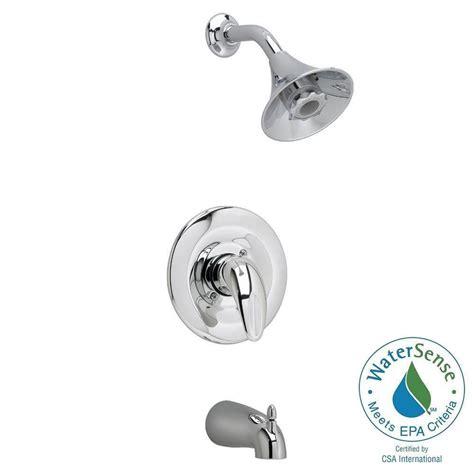 shop american standard reliant polished chrome 1 handle american standard reliant flowise single handle 1 spray