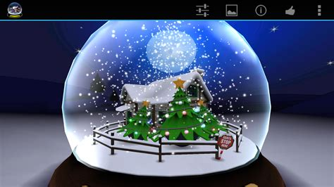 wallpaper christmas snow 3d 3d christmas advent snow globe android apps on google play