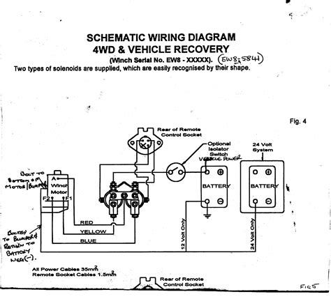 superwinch solenoid wiring diagram remote wiring diagrams