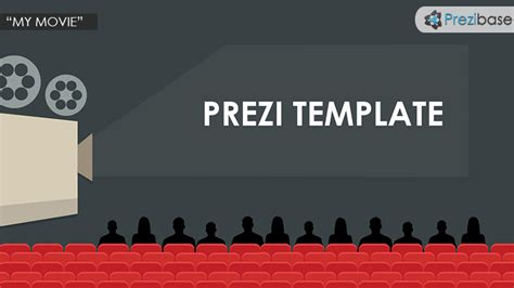My Movie Prezi Template Prezibase Prezi Photography Template