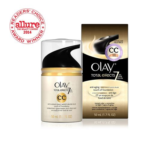 Olay Total Effects Daily Moisturizer total effects cc moisturizer foundation