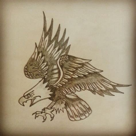 sailor jerry eagle tattoo eagle sketch sailor jerry flash inked for