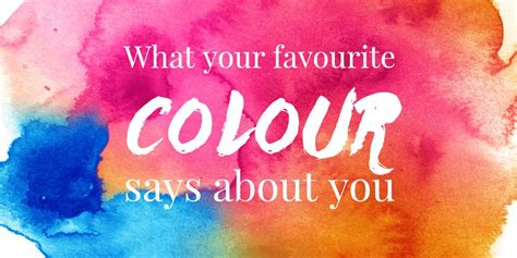 what your favourite colour says about you what your favourite colour says about you wishing moon