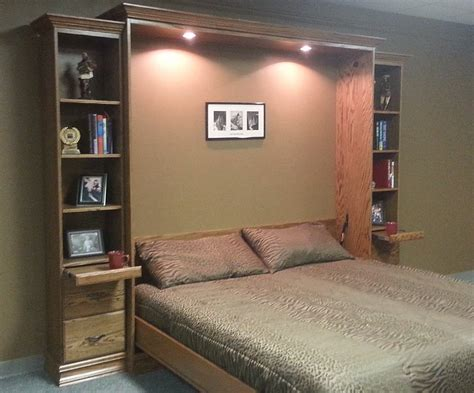 king size murphy bed king size murphy bed custom by chris davis