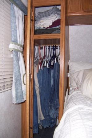 how to remodel a closet an rv closet remodel makes a narrow cabinet useful