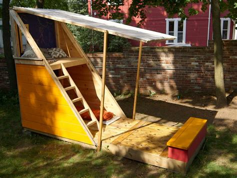 backyard fort kits how to build a backyard playhouse how tos diy