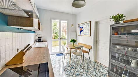 Carreaux De Ciment Cuisine 167 by Appartement 11e Un Duplex Familial Lumineux Et