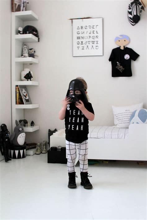 chambre enfant noir et blanc une chambre d enfant en noir et blanc