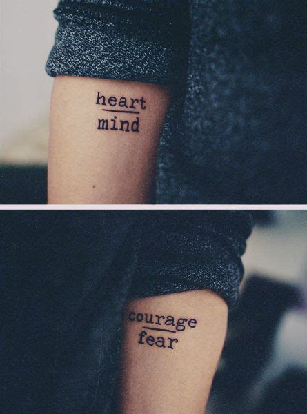 simple tattoo quotes 12 super simple quote tattoos for girls pretty designs