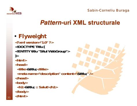 design pattern read xml xml design patterns