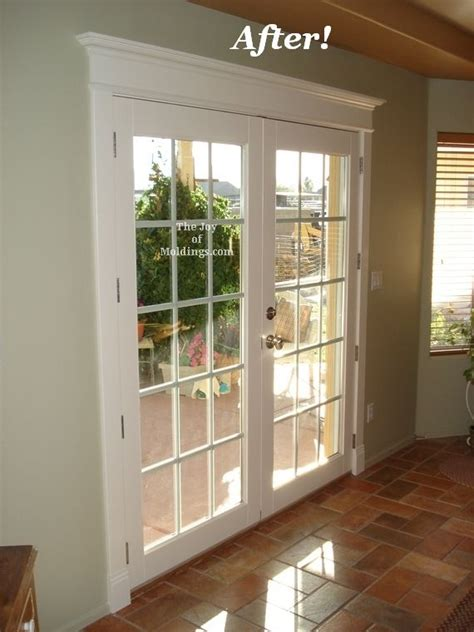 slider converted  french doors home renovation home