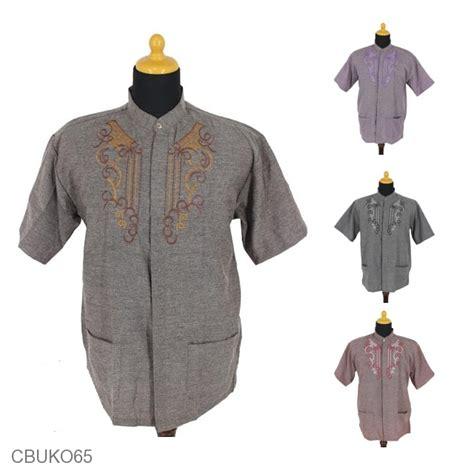 Koko Muslim Motif Batik Kebumen baju muslim koko motif rantai regol koko batik murah