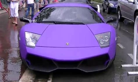 Matte Purple Lamborghini Matte Purple Lamborghini Murcielago Lp670 4 Sv Picture