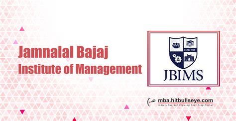 Jbims Cut For Mba by Jibms Official Cut Jamnalal Bajaj Institute Of