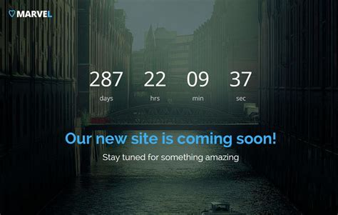 free bootstrap coming soon template webthemez