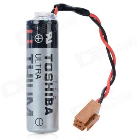 Er6v 3 6v toshiba er6v 3 6v 2400mah de litio de la bater 237 a plc