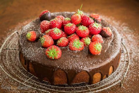 erdbeer schoko kuchen erdbeer schoko kuchen 9 salzig s 252 223 und lecker