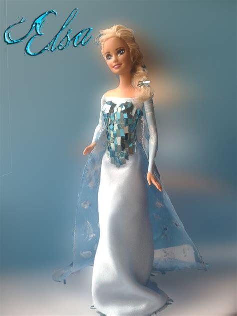 wallpaper barbie frozen barbie repaint elsa from frozen by someskullio on deviantart