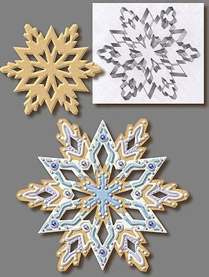 Link Precious Snowflake Cookies 2 by Large Snowflake Cookie Cutter Cookie Cutter Experts