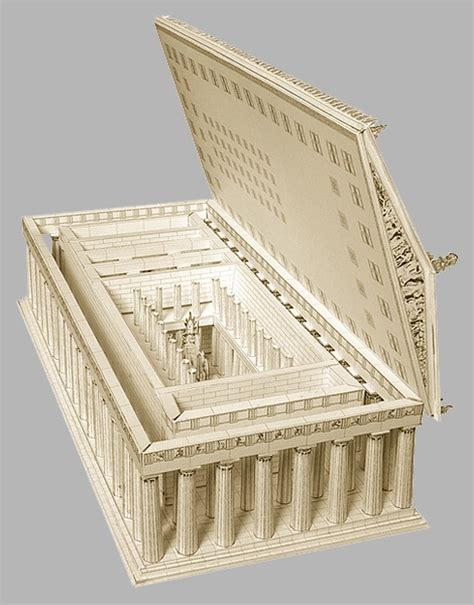 How To Make A 3d Building Out Of Paper - the parthenon 3d paper model by paperlandmarks you can