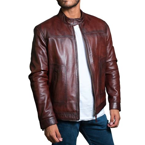 leather jackets brown leather jacket mens cairoamani com