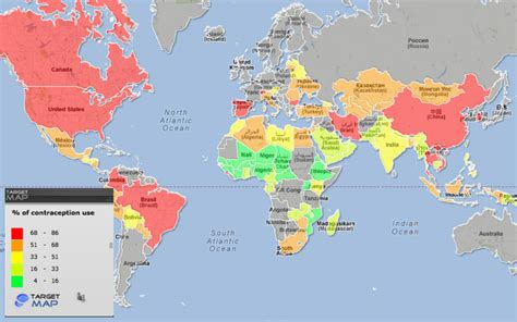 country in world map world map of contraception use selected countries by