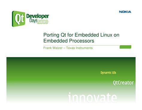 programming with qt for embedded linux pdf upload login signup