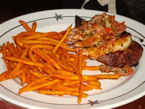 saltgrass steak house parker co saltgrass steak house steak grilled shrimp with sweet potato fries saltgrass