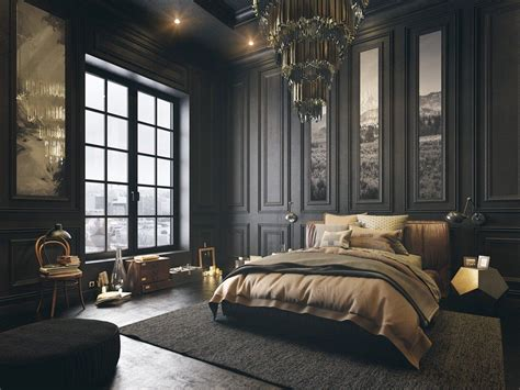 dark home decor gorgeous dark bedroom designs with minimalist and playful