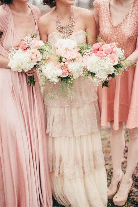 Rustic Color Scheme by Rose Gold Wedding Ideas