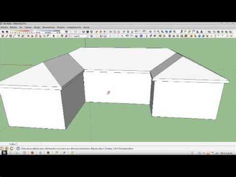 tutorial de google sketchup sketchup tutorial como hacer una cubierta youtube