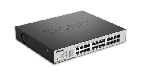Switch Hub 24 Port Dlink Gigabit by D Link Smart Managed 24 Port Gigabit Poe Switch Dgs 1100
