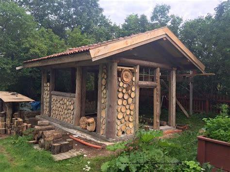 cordwood  sweden  pelle henrikssons cordwood sauna