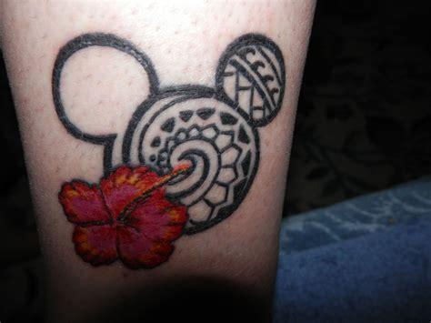tribal tattoo work disney mickey mouse tribal work by