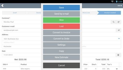 invoice apps for android invoice template ideas