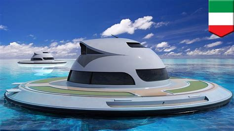 floating boat house ufo ufo yachts futuristic floating houseboats to hit the seas