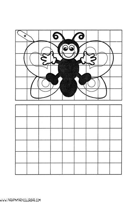 imagenes para dibujar en cuadricula imagenes en cuadricula para colorear imagui