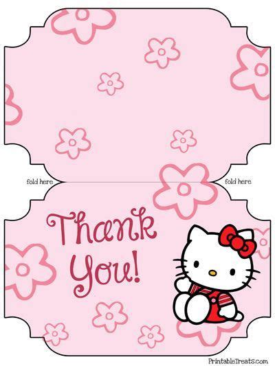 Hello Birthday Card Template by Free Printable Hello Thank You Cards From