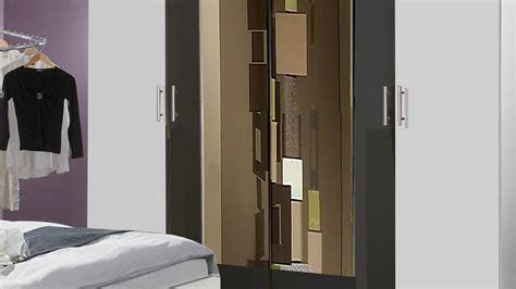 komplett schlafzimmer mit einzelbett schlafzimmer nora in wei 223 und anthrazit doppelbett