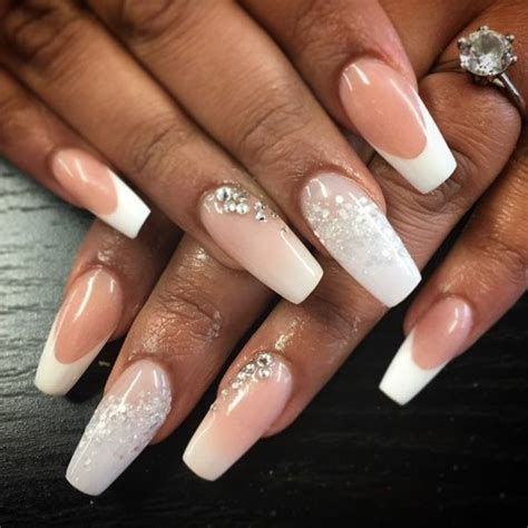 Ongles Mariage Photos by 1001 Id 233 Es Impeccables Pour Une Manucure Blanche