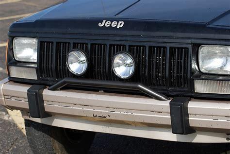 Bumper Light Bar by Homebrew Light Bar For Stock Bumper Jeep Forum