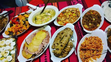 filipino holiday food noche buena christmas eve menu