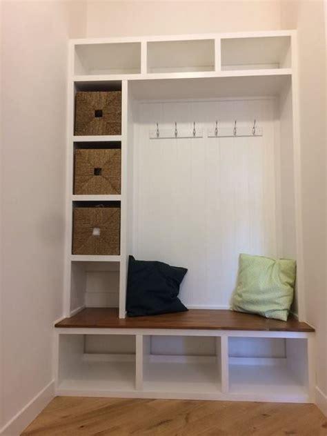 diy mudroom bench storage plans  list mymydiy