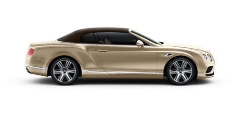 Continental Gt Convertible Bentley Motors
