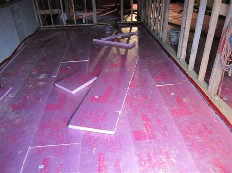 ronse massey developments basement floor insulation and