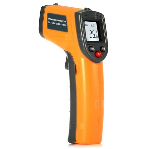 Thermometer Infrared gs320 non contact digital ir infrared thermometer 11 01