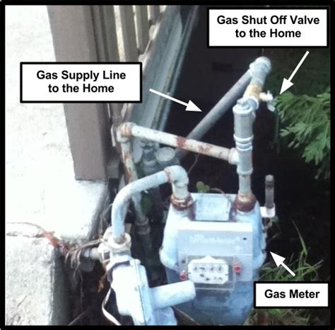 how to turn off gas to house turn off the gas supply to the water heater