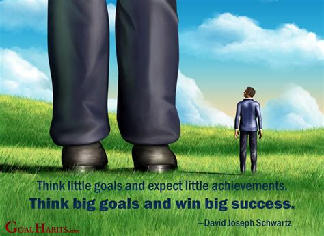 Thinking Big the magic of thinking big goal habits