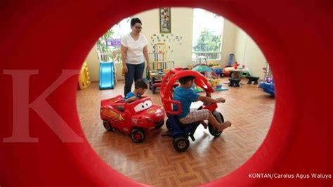 Mainan Anak Gangsing Lu mendulang fulus dari rental mainan anak