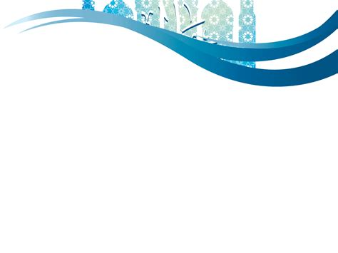 ppt themes for internship eid ul fitr muslims religious powerpoint templates blue